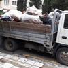 Уборка улицы Солнечная в районе 10-11 домов
