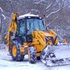 Уборка снега по ул. Боровая