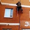 Фасадные работы, восстановление межпанельных швов в доме №25 по ул. Горького