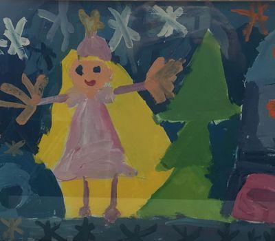 Конкурс детского рисунка «Я рисую Новый год»