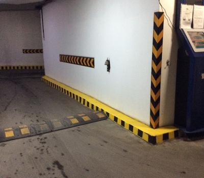 Ремонтные работы в паркинге