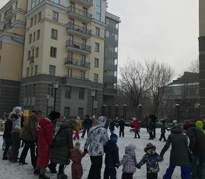 Новогодний праздник в нашем доме 2018-2019